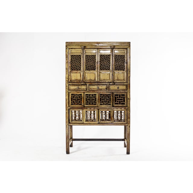 1920s Vintage Chinese Cabinet For Sale In Chicago - Image 6 of 11