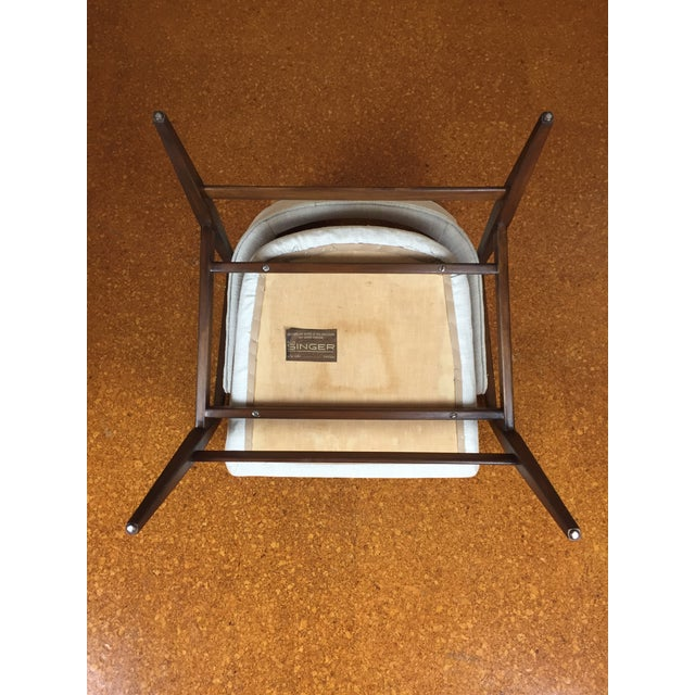 Mid-Century Modern Gio Ponti for Singer & Son Lounge Chair For Sale - Image 9 of 11