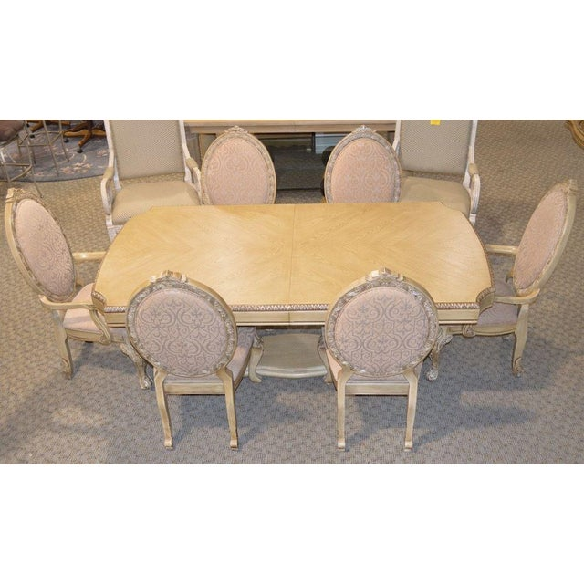 Aico carved tuscan style dining table chairs chairish aico carved tuscan style dining table chairs image 2 of 11 workwithnaturefo