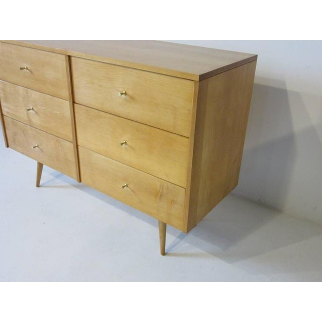Brown Paul McCobb Planner Group Dresser Chest For Sale - Image 8 of 9