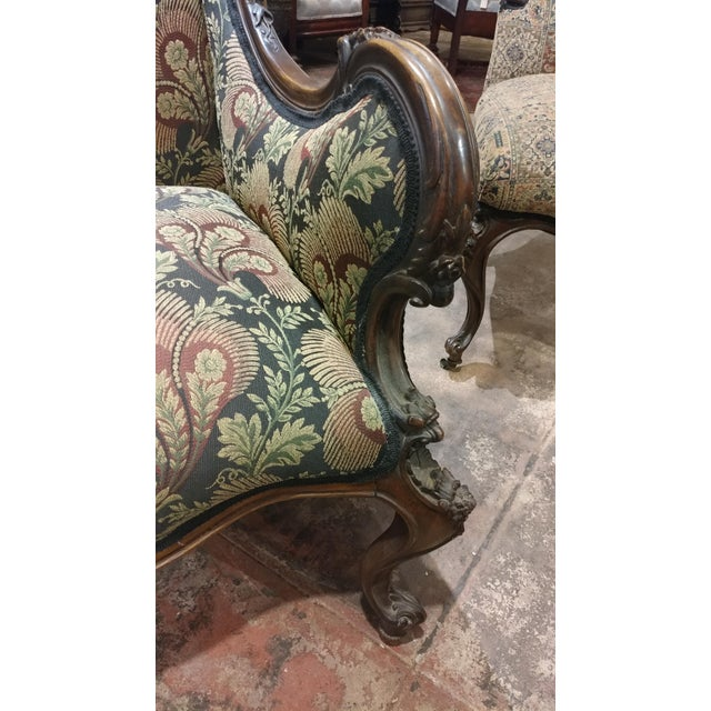 19th Century Victorian Tapestry Chairs - Set of 2 For Sale In Los Angeles - Image 6 of 10