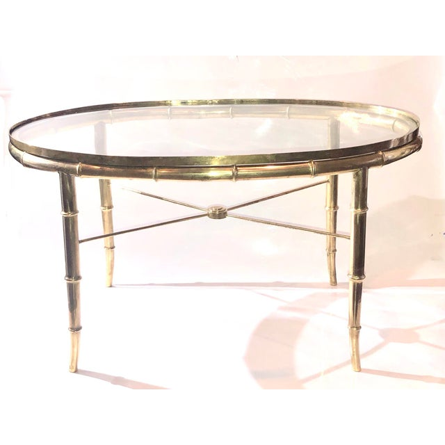 1970s Hollywood Regency Mastercraft Cocktail Table For Sale In Seattle - Image 6 of 7