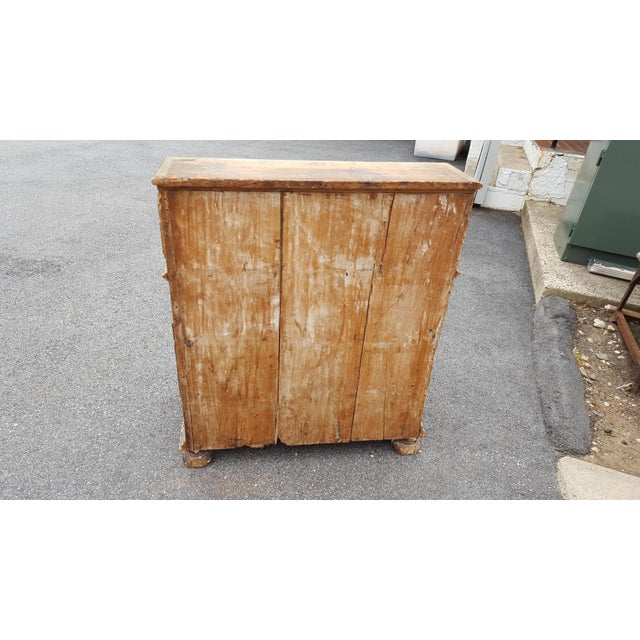 French Distressed Painted Secretary Desk - Image 6 of 11