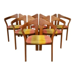 Mid-Century Teak Dining Chairs - Set of 6