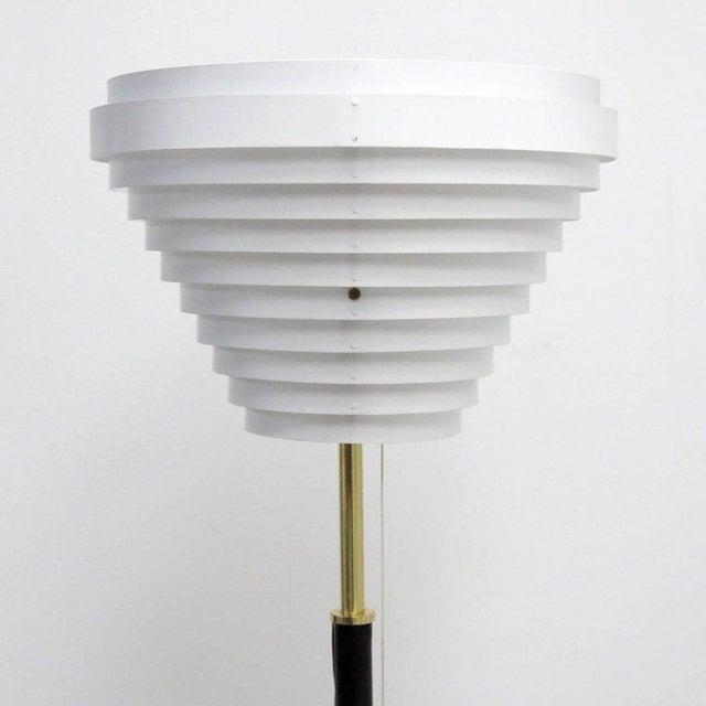 Alvar Aalto Alvar Aalto Model A805 'Angel Wing' Floor Lamp For Sale - Image 4 of 13