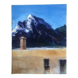2018 Contemporary Northwest Mountain Painting For Sale