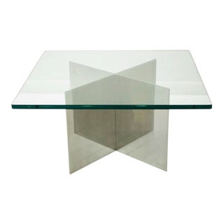 Paul Mayen 1970's Habitat Aluminum X Table For Sale