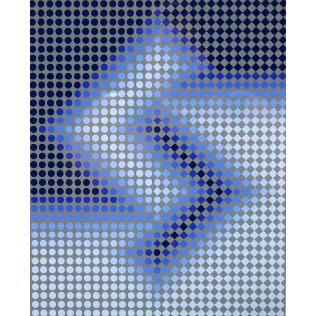 Sembe by Victor Vasarely Serigraph in Color Pencil Signed Numbered For Sale - Image 9 of 9