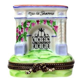 Limoges Box, Hand Painted Mas De Provence For Sale