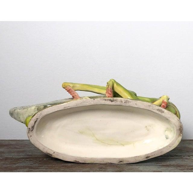 French Majolica Grasshopper For Sale In San Francisco - Image 6 of 7