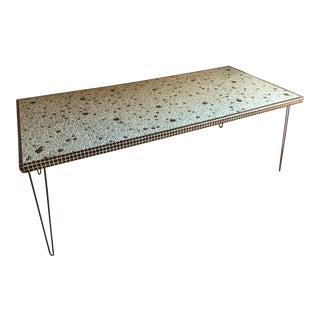 1950s Vintage Mosaic Dining Table