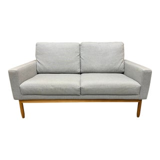 Design Within Reach Jeffrey Bernett + Nicholas Dodziuk Raleigh Two-Seater Sofa For Sale