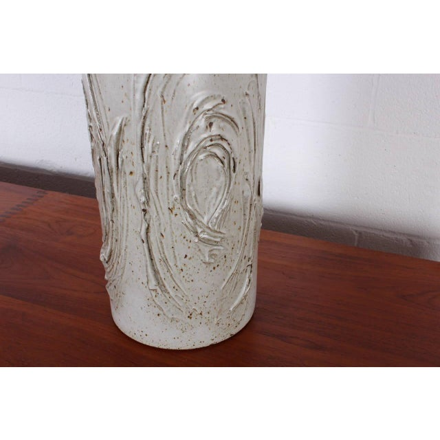 Ceramic Ceramic Table Lamp by David Cressey For Sale - Image 7 of 8