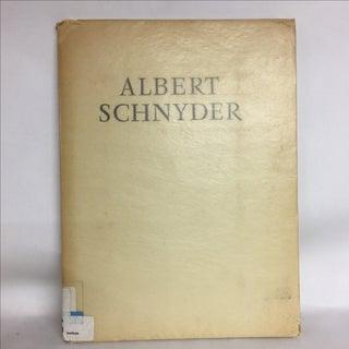 Albert Schnyder Folio Landscapes and Portraits, 1951 Preview