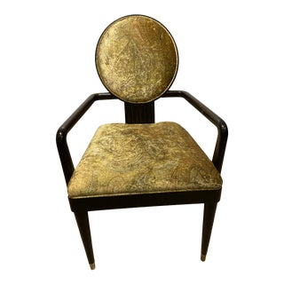 E J Victor Allison Paladino Art Deco Chair For Sale