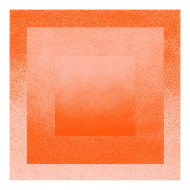 Jessica Poundstone Peach & Tigerlily: Color Space Series Print - Image 1 of 3