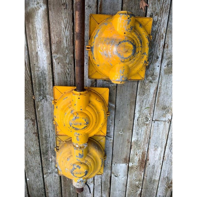 Metal Authentic Econolite Traffic Signal For Sale - Image 7 of 10