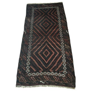 "Antique Tribal Baluch Rug 6'5"" X 3'4"" For Sale"