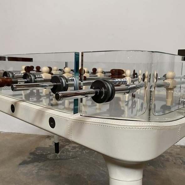 Vintage Centroid Richerche Giorgetti 90 Minuto Foosball Table For Sale In Los Angeles - Image 6 of 13