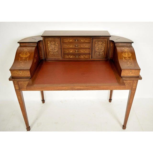1900s English Carlton Desk - Image 3 of 11
