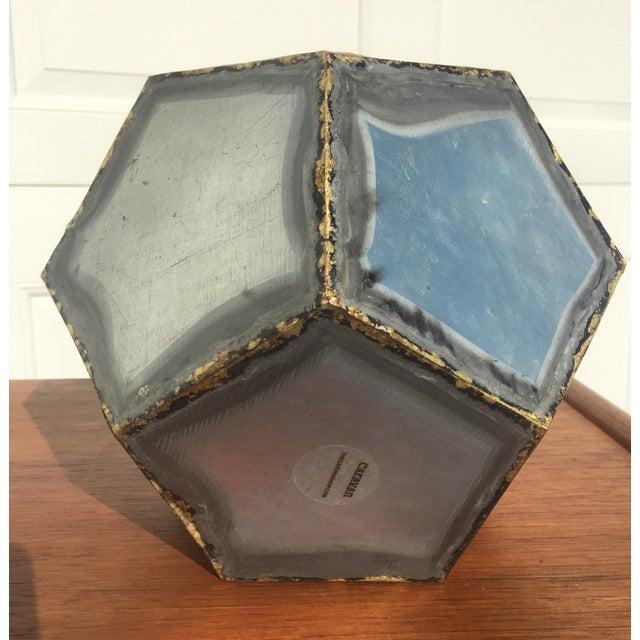 Brutalist Zinc Geometric Planter - Image 3 of 5