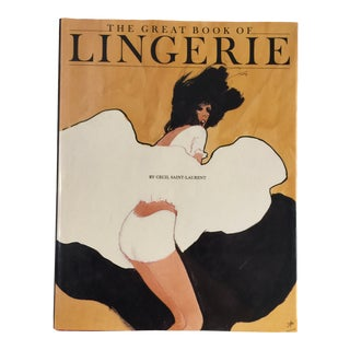 """The Great Book of Lingerie"" 1986 Vendome Press Hardcover Book For Sale"