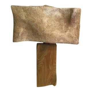 Heifetz Lamp With Fiberglass Shade For Sale