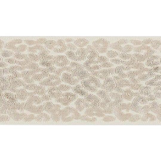 Sample, Scalamandre Leopard Velvet Fawn Tape For Sale