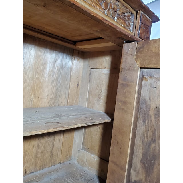 19th Century French Provincial Fruitwood Buffet For Sale In Boston - Image 6 of 7