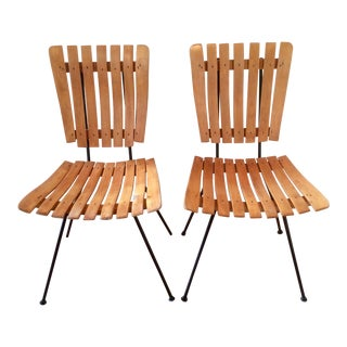 1950s Vintage Arthur Umanoff for Raymor Chairs- A Pair For Sale