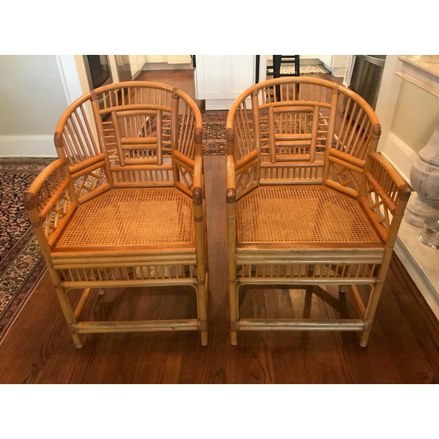 Vintage Brighton Chairs - A Pair - Image 2 of 4