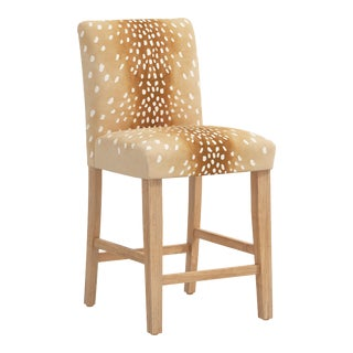 Counter Stool in Fawn Natural For Sale