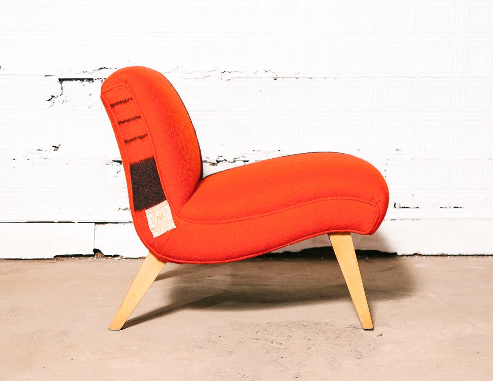 50u0027s Hudsonu0027s Bay Blanket Slipper Chair   Image 4 Of 11