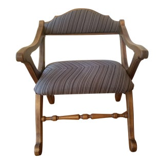 Restored Medieval Style Klismos Chair For Sale