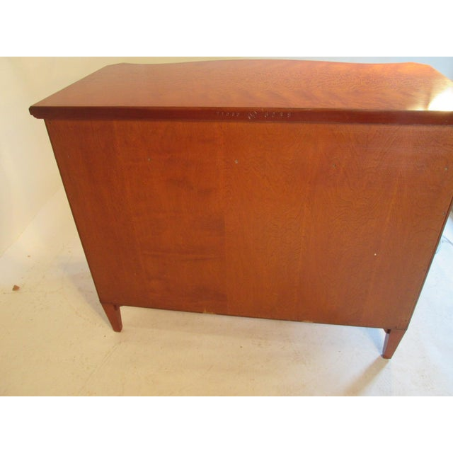 1940s Vintage Schmieg and Kotzian Satinwood Chest For Sale In Portland, ME - Image 6 of 12