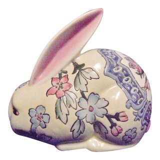 Chinese Porcelain Rabbit Figurine