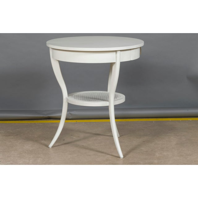 Transitional Vanguard Furniture Miranda Lamp Table For Sale - Image 3 of 4