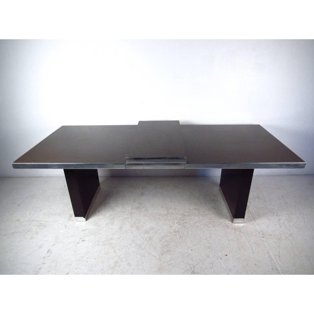 Modern Dining Table by Pierre Cardin For Sale In New York - Image 6 of 11