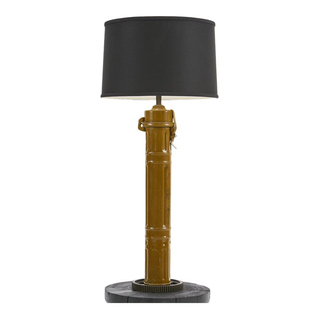 Ted Harris Artillery Shell Table Lamp For Sale
