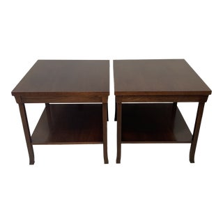 Baker Side Tables - a Pair For Sale
