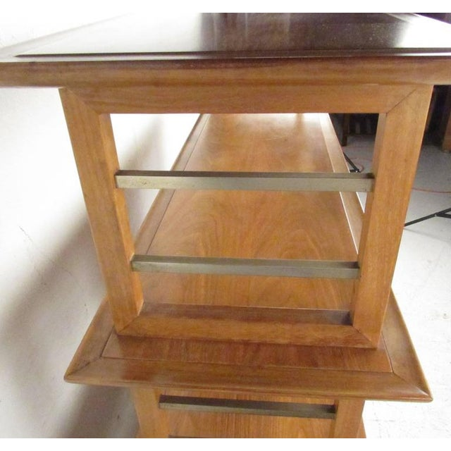 Metal Stiehl Furniture Mid-Century Workstation For Sale - Image 7 of 9