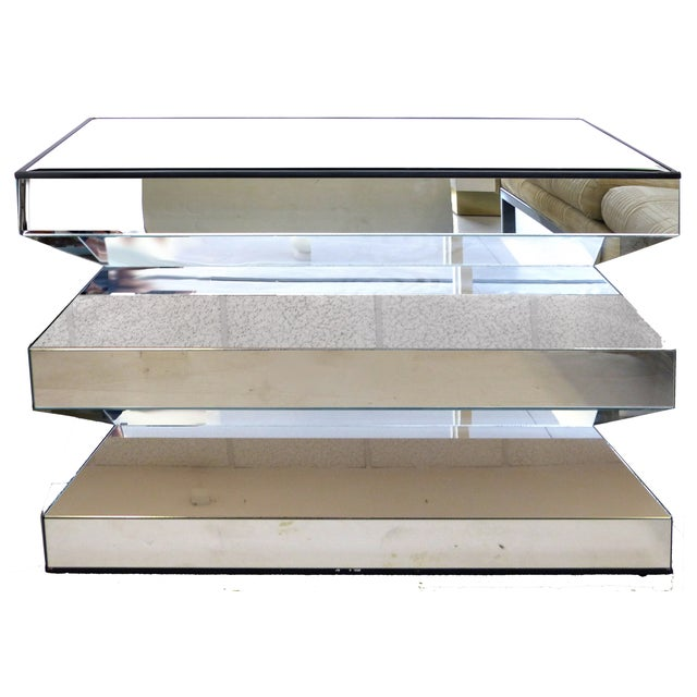 Angled Mirror Console -- or Dinning Table Base - Image 1 of 9