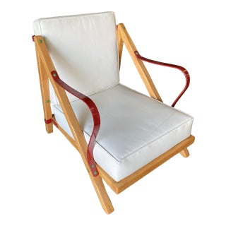 Restored Custom Build Mid Century Lounge Chair in the Style of Monterey For Sale