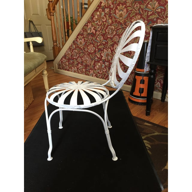 Early 20th Century Vintage French Garden Chair For Sale - Image 4 of 8
