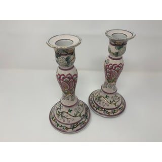 1960s Chinoiserie Candle Holders - a Pair Preview