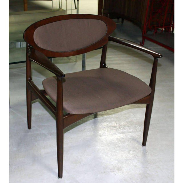 Danish Modern Extra-Wide Mid-Century Danish Modern Lounge Chair by Selig For Sale - Image 3 of 10