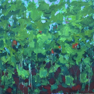 Lush Garden by Stephen Remick For Sale