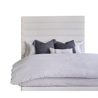 Featured in The 2020 San Francisco Decorator Showcase — Kristen Pena Custom Upholstered Bed Frame