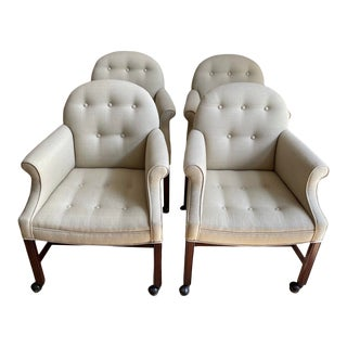 Vintage Game Lounge Chairs- Set of 4 For Sale