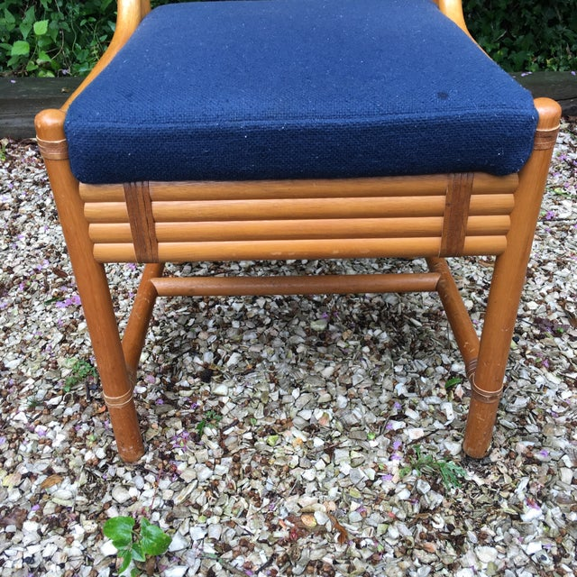 Chippendale Rattan Side Chairs - Set of 3 - Image 9 of 11